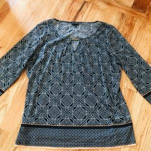 THE LIMITED 3/4 SLEEVE BLOUSE